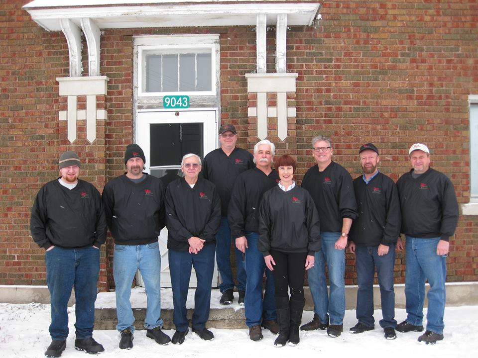photo of staff members at Hope Creamery