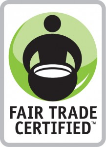 photo of a Fair Trade Certification product label