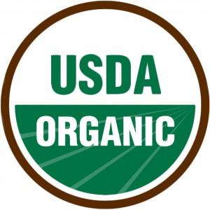 photo of a USDA organic label