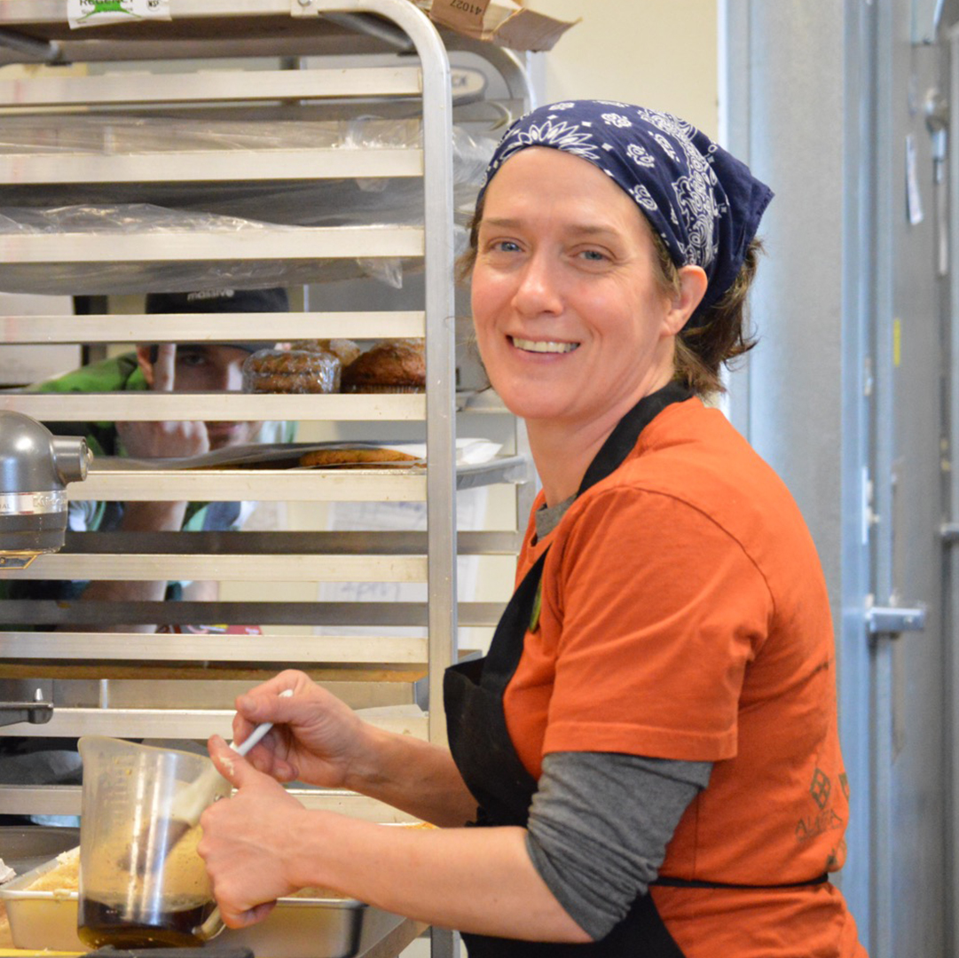 a photo of Bakery Manager Carmen Christy