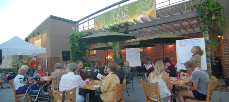 a photo of the St. Peter Food Co-op Annual Owner Meeting