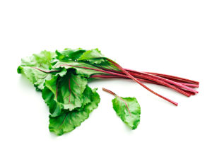 a photo of beet greens