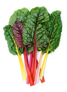 a photo of swiss chard