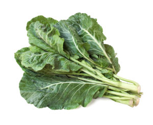 a photo of collard greens