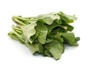 a photo of mustard greens