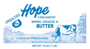 a photo of butter from Hope Creamery