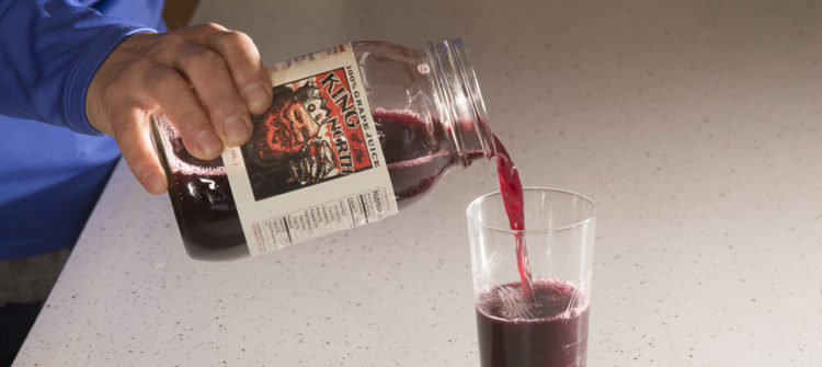 a photo of King of the North Grape Juice