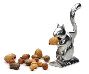 a photo of Nutty Squirrel Nutcracker