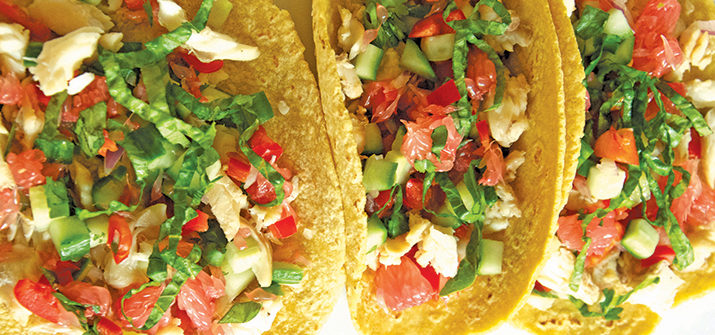a photo of fish tacos