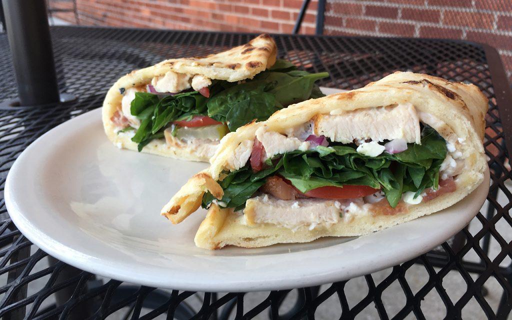 a photo of the Schwarma sandwich