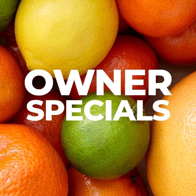 Owner Specials