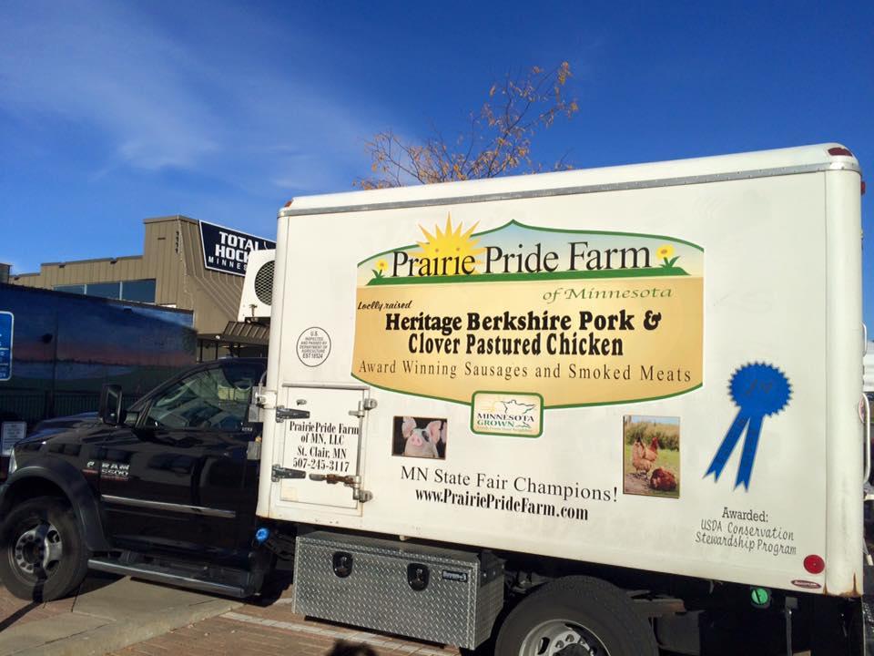 Prairie Pride Farm truck